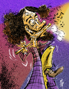 Cartoon: Ian Anderson (small) by stip tagged ian anderson jethro tull progressive folk rock flute medieval seventies 70 music