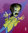 Cartoon: The Captain (small) by stip tagged captain beefheart prog rock blues avant garde zappa music