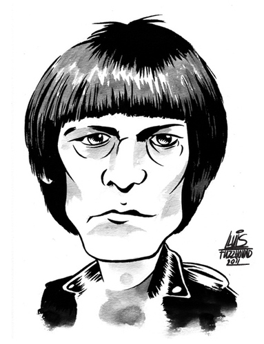 Cartoon: The Ramones (medium) by Lluis Fuzzhound tagged ramones,rock,roll