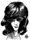 Cartoon: The Ramones (small) by Lluis Fuzzhound tagged ramones,rock,roll