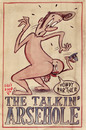Cartoon: The Talking Arsehole (small) by Lluis Fuzzhound tagged bad