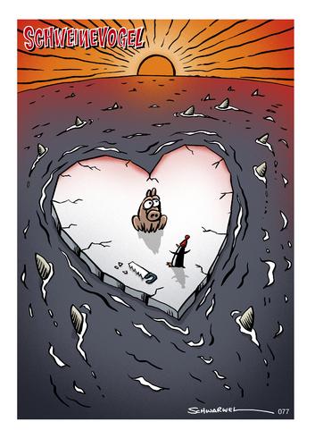Schweinevogel Valentinstag By Schweinevogel Love Cartoon Toonpool