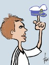 Cartoon: Phillipp Lahm (small) by tiede tagged phillipp,lahm,football,german,national,team,leader,departure