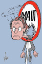 Cartoon: Scheuer-Durchblick (small) by tiede tagged scheuer,maut,tiede,cartoon,karikatur