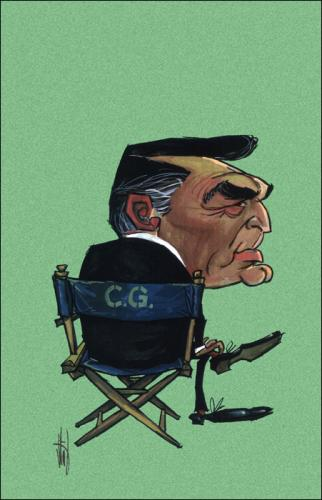 Cartoon: Cary Grant (medium) by Stef 1931-1995 tagged movie,caricature,hollywood