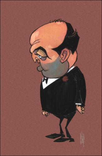 Cartoon: Movie Caricatures 15 (medium) by Stef 1931-1995 tagged movie,caricature