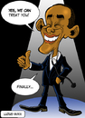 Cartoon: Barack Obama and health (small) by Ludus tagged obama,health