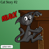Cartoon: Cat Story 2 (small) by Ludus tagged cat,cats