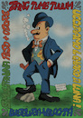 Cartoon: Filippo Tommaso Marinetti (small) by Ludus tagged marinetti,futurism