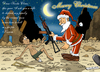 Cartoon: Merry Christmas (small) by Ludus tagged christmas