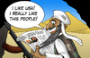 Cartoon: Osama Bin Laden (small) by Ludus tagged osama