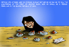 Cartoon: Stoned woman (small) by Ludus tagged woman,iran,death