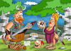 Cartoon: Vikings (small) by Ludus tagged viking,vikings
