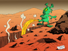 Cartoon: Water on Mars (small) by Ludus tagged mars