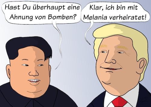 und Donald Trump (medium) by Oli Knaus tagged kim,jong,un,donald,trump ...