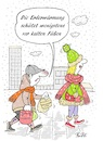Cartoon: Mode und Erderwärmung (small) by BuBE tagged erderwärmung,klimawandel,mode,wintermode,fashion,kalt,füße