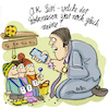 Cartoon: Hirnerweiterung (small) by REIBEL tagged siri,smartphone,vater,kinder,kindergarten,business,manager,abholen