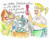 Cartoon: Thermomix (small) by REIBEL tagged thermomix,vibrator,frauen,verkaufsveranstaltung,homeshopping,zubehör,hausfrau