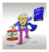 Cartoon: GREECE (small) by vasilis dagres tagged klaus,regling,greece,esm