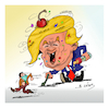Cartoon: TRUMP (small) by vasilis dagres tagged trump,conid19