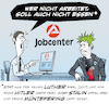 Cartoon: Lutherjahr 2017 (small) by bSt67 tagged reformation,jobcenter,punk,luther,arbeitszwang,alg2,hartz4,agenda2010