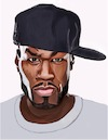 Cartoon: 50 cent (small) by didier D tagged 50cent