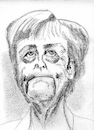 Cartoon: Merkel Angela (small) by higi tagged politiker politic merkel angelamerkel kanzlerin deutschland europa
