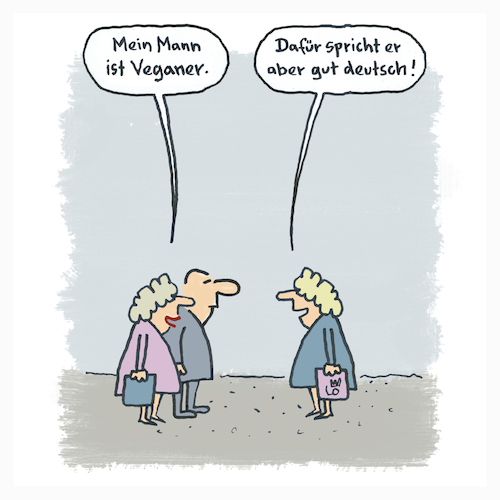 Vegan By Lo Graf Von Blickensdorf Media Culture Cartoon Toonpool