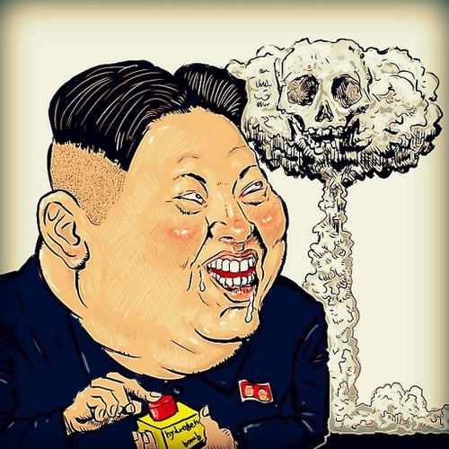 Image result for Kim Jong Un CARTOON
