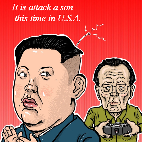Kim Jong Un Cartoon