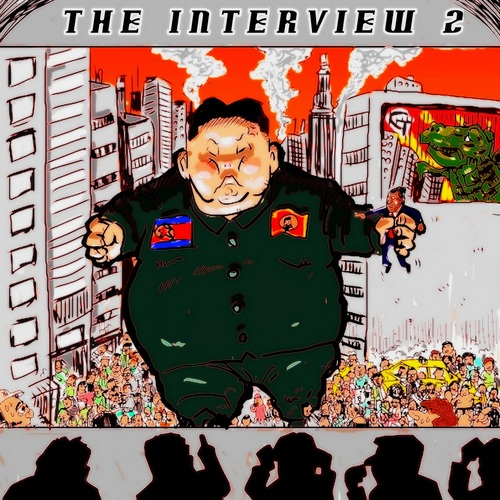 Cartoon: The Interview2 (medium) by takeshioekaki tagged the,interview