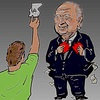 Cartoon: FIFA (small) by takeshioekaki tagged fifa
