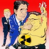 Cartoon: talk (small) by takeshioekaki tagged kim,jong,un