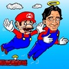 Cartoon: ThankYouIwata (small) by takeshioekaki tagged wii