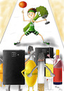 Cartoon: Health Fighter (small) by Orhan ATES tagged green,crescent,health,war,warior,dependency,human,humanity