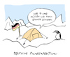 Cartoon: Kaltes (small) by Bregenwurst tagged schnee,schippen,pol,arktis,pinguin