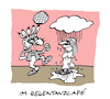 Cartoon: Niederschlag (small) by Bregenwurst tagged regentanz,tanzcafe,senioren,foxtrott