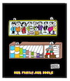 Cartoon: Family Books (small) by APPARAO ANUPOJU tagged family,books
