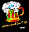 Cartoon: International Beer Day (small) by APPARAO ANUPOJU tagged beer,day
