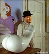 Cartoon: Clockwork Orange (small) by edoardo baraldi tagged berlusconi,kubrik