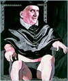 Cartoon: papa (small) by edoardo baraldi tagged benedettoxvi,ratzinger