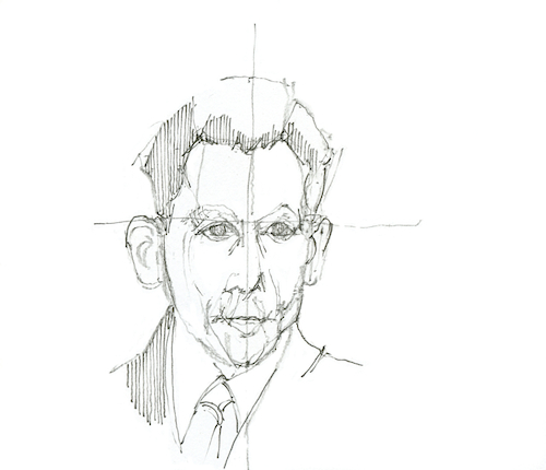 Cartoon: Georg Elser (medium) by herranderl tagged bürgerbräukeller,münchen,1939