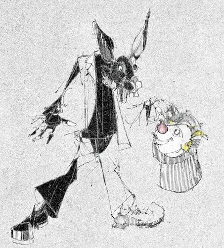 Miese Tricks By Herranderl Philosophy Cartoon Toonpool