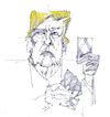 Cartoon: meme (small) by herranderl tagged virale,verbreitung,trump,twitter