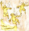 Cartoon: x-mas (small) by herranderl tagged weihnachten,christmas,engel,frohe