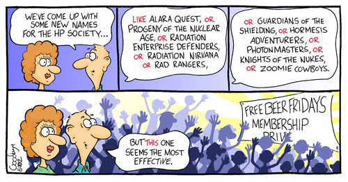 Cartoon: Whats in a name (medium) by Goodwyn tagged health,physics,society,radiation,nuclear,people
