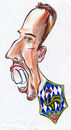 Cartoon: Ribery (small) by bebetokaspi tagged franck,ribery