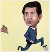 Cartoon: Kurz (small) by Christi tagged kurz,austria,onu