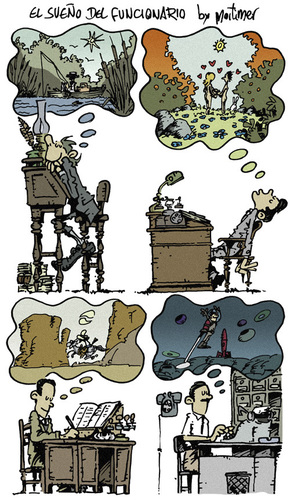 Cartoon: dreams multipage (medium) by mortimer tagged cartoon,mortimeriadas,mortimer