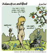 Cartoon: adam eve and god 12 (small) by mortimer tagged mortimer,mortimeriadas,cartoon,comic,gag,adam,eve,god,bible,paradise,eden,biblical,christian,original,sin,sex,nude,toons,hairy,belly,blonde,snake,apple